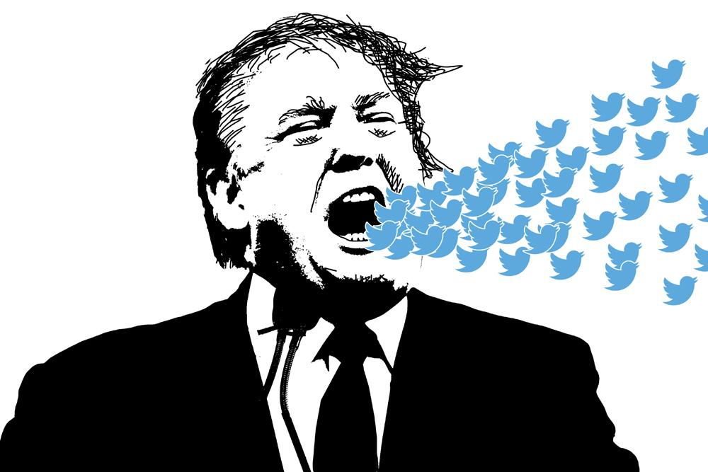 Social media giants take brave stand against Trump now he can't harm them anymore